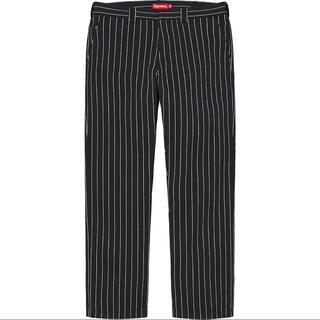 Supreme - Supreme 21SS Work Pant Black Stripe 30