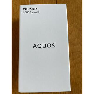 AQUOS - 【新品未開封】AQUOS Sense4 SH-M15 ブラック