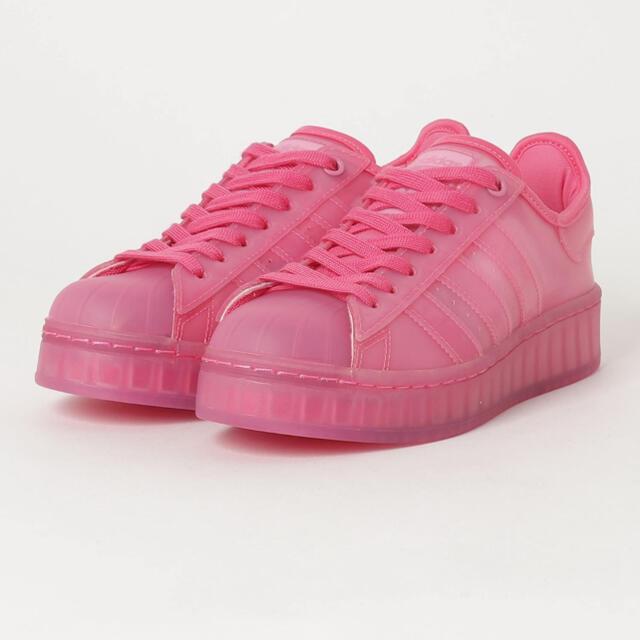 adidas(アディダス)のスーパースター ジェリー ピンク レディースの靴/シューズ(スニーカー)の商品写真
