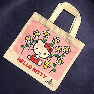 ハローキティ - キティちゃん ミニトートバッグ 非売品 HELLO KITTY サンリオ