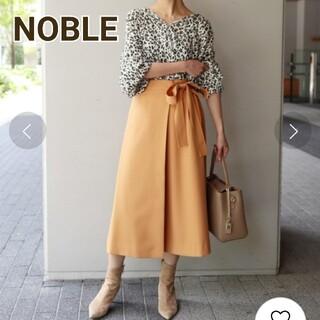 Noble - ノーブル ラップリボンスカート オレンジ S