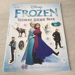 ディズニー(Disney)の海外製 アナ雪 シールブック(キャラクターグッズ)