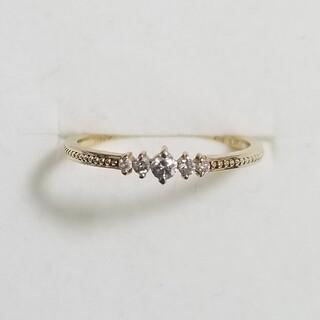 ジュピターゴールドレーベル(jupiter GOLD LABEL)の【ジュピター】K10YG ダイヤモンドリング(リング(指輪))