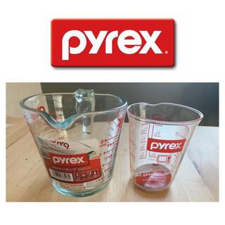 パイレックス(Pyrex)のpyrex パイレックス 計量カップ 強化ガラス Br 軽量メジャーカップ 透明(調理道具/製菓道具)