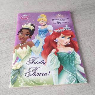 ディズニー(Disney)の海外製 ディズニープリンセス シール付き塗り絵(キャラクターグッズ)