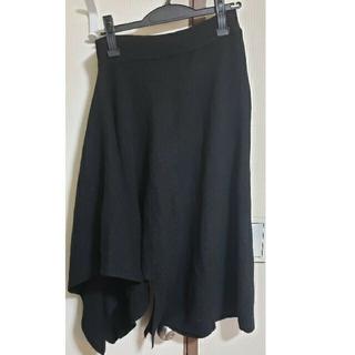 ラミア(LAMIA)のアシンメトリースカート(ひざ丈スカート)