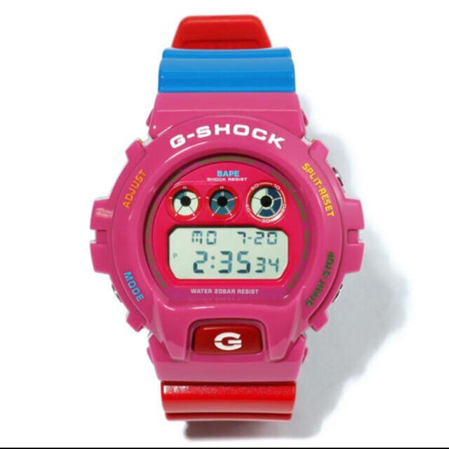 A BATHING APE(アベイシングエイプ)のBAPE x KID CUDI G-SHOCK DW6900 メンズの時計(腕時計(デジタル))の商品写真