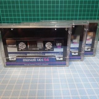 マクセル(maxell)のmaxell  UDⅠ 54  カセットテープ54分・3本(NORMAL)(その他)