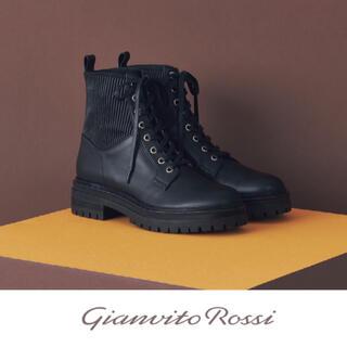 ジャンヴィットロッシ(Gianvito Rossi)の【新品未使用】Gianvit Rossi ショートブーツ レースアップシューズ(ブーツ)