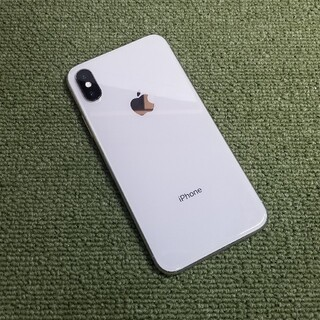 アイフォーン(iPhone)のiPhone X 64GB SoftBank Silver(スマートフォン本体)