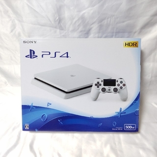 PlayStation4 - PS4 グレイシャーホワイト 薄型 CUH-2200A500GB 美品