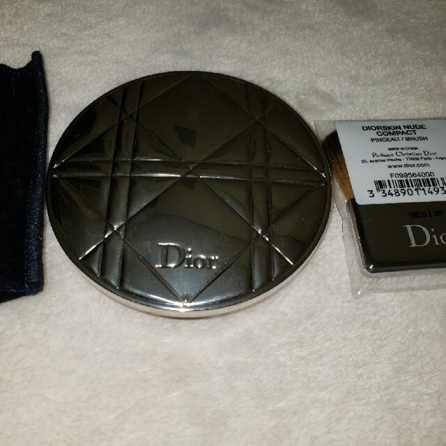 Christian Dior(クリスチャンディオール)のディオール❤️スキンミネラルヌードマットパウダー❤️02 コスメ/美容のベースメイク/化粧品(フェイスパウダー)の商品写真
