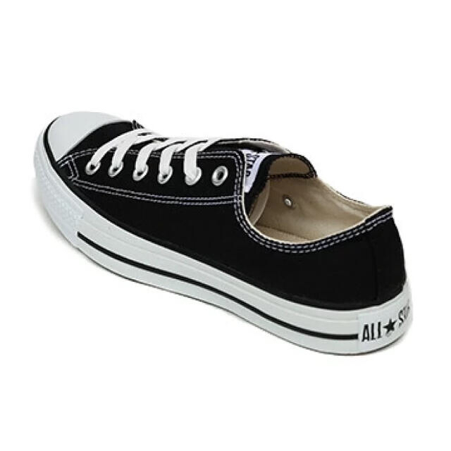 CONVERSE(コンバース)のCONVERSE CANVAS ALL STAR OX BLACK 新品 レディースの靴/シューズ(スニーカー)の商品写真