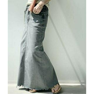 L'Appartement DEUXIEME CLASSE - L'Appartement【GOOD GRIEF】DENIM LONG スカート