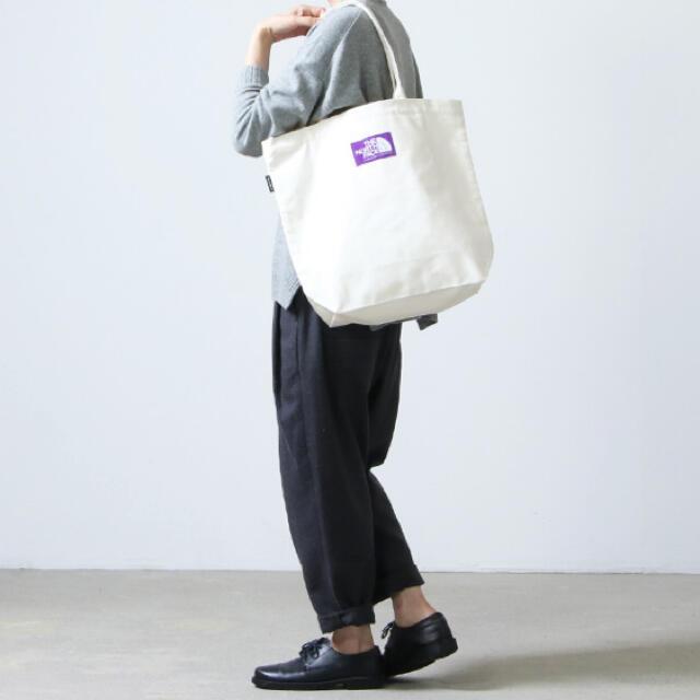 THE NORTH FACE(ザノースフェイス)のノースフェイス パープルレーベル トートバッグ 新品 ナチュラル ホワイト   メンズのバッグ(トートバッグ)の商品写真