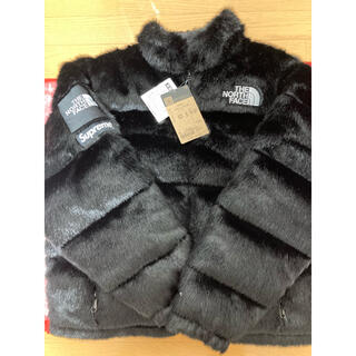Supreme - 新品 supreme north face fur jacket ヌプシ M