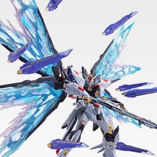 BANDAI - METAL BUILD ストライクフリーダム SOUL BLUE 光の翼セット