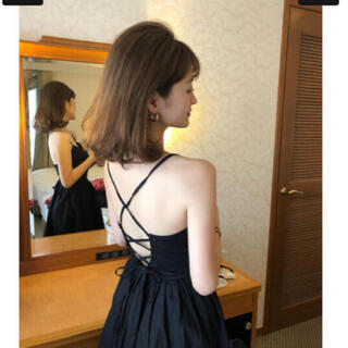 (OUTLET)bibiy camisole one-piece ♡