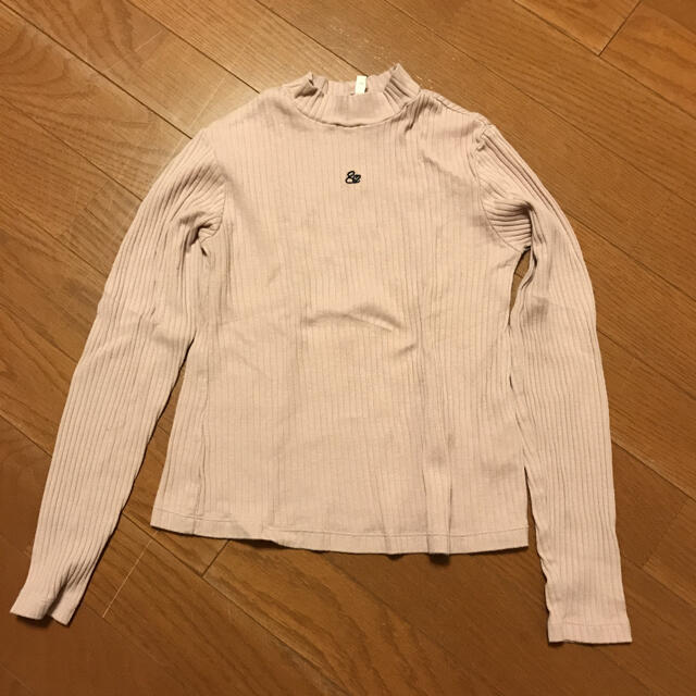 GU(ジーユー)のGU♡ロンT キッズ/ベビー/マタニティのキッズ服女の子用(90cm~)(Tシャツ/カットソー)の商品写真