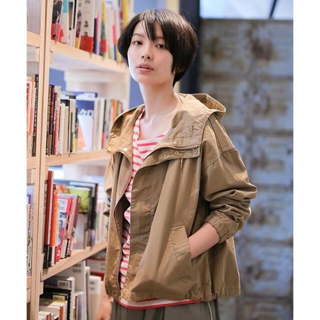 niko and...(ニコアンド)のnicoand... ツイルマウンテンパーカー レディースのジャケット/アウター(ブルゾン)の商品写真
