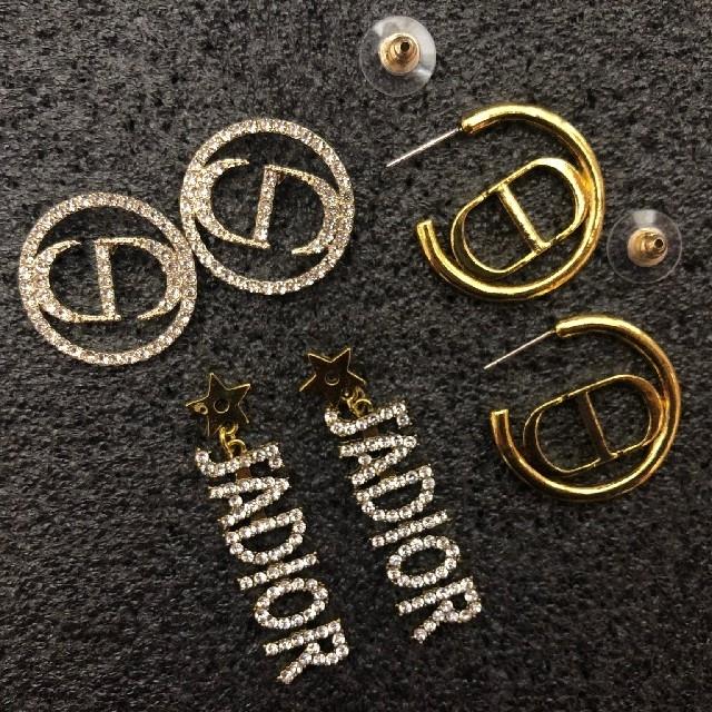 Dior(ディオール)のディオール ピアス レディースのアクセサリー(ピアス)の商品写真