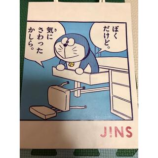 ドラえもん のび太 JINS ショッパー 非売品 紙袋 漫画
