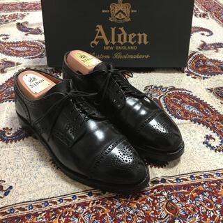 Alden - 本日タイムセール‼️早い者勝ち‼️極美品オールデン 2146 コードバンブラック
