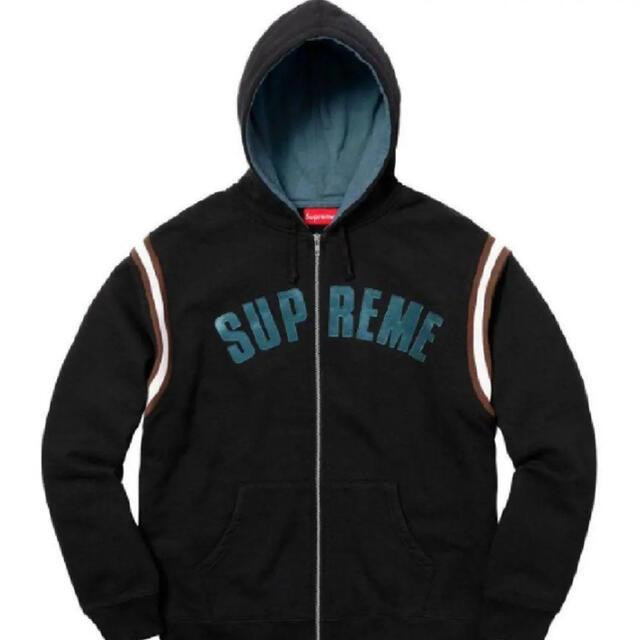 Supreme(シュプリーム)のSupreme Jet Sleeve Zip Up Hooded メンズのトップス(パーカー)の商品写真