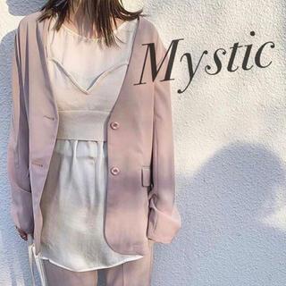 mystic - 春♡ ノーカラージャケット