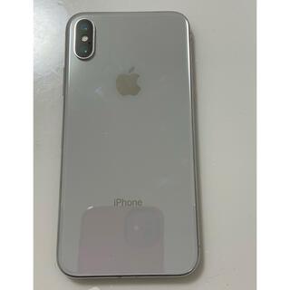 アップル(Apple)のiPhone X 本体 SIMフリー(スマートフォン本体)