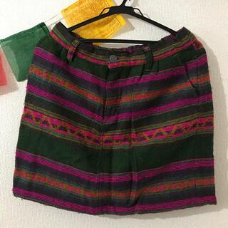 チチカカ(titicaca)のチチカカスカート(ひざ丈スカート)