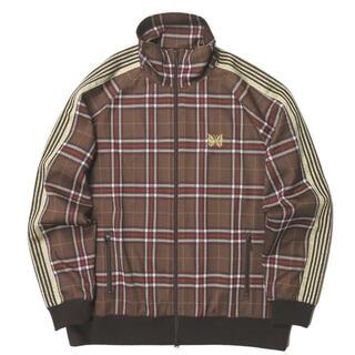 ニードルス(Needles)のNeedles 20SS パピヨン刺繍 チェックトラックジャケット XL メンズ(ブルゾン)