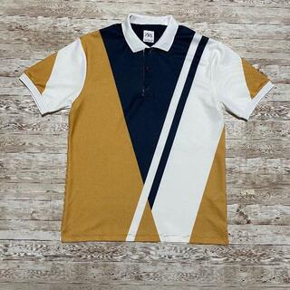 ザラ(ZARA)のZARA ストライプ トリコロール ポロシャツ(ポロシャツ)