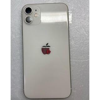 アイフォーン(iPhone)のiphone 11 ホワイト64Gb Simフリーバッテリー94%(スマートフォン本体)