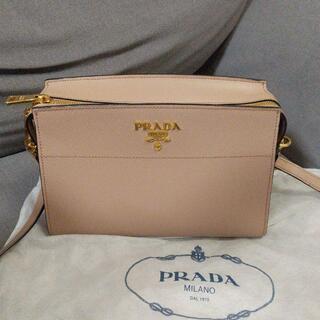 PRADA - PRADA サフィアーノ レザーショルダーバッグ
