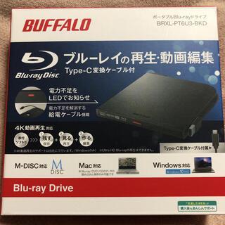 Buffalo - BUFFALO ポータブルBlu-rayドライブ BRXL-PT6U3-BKD