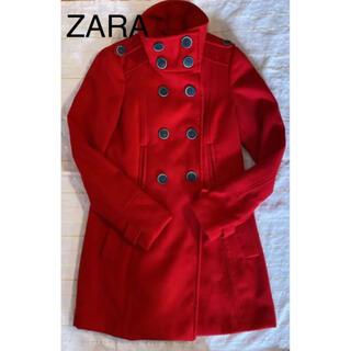 ZARA - ☆ZARA コート レッド Sサイズ