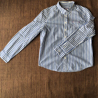 bulle de savon - itsumoのシャツ ブルーストライプ