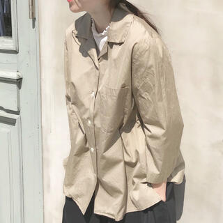bulle de savon - yuni ユニ オープンカラーシャツ
