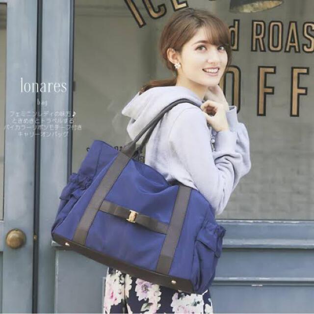 JILL by JILLSTUART(ジルバイジルスチュアート)のtocco closet トッコクローゼット 旅行 バッグ レディースのバッグ(トートバッグ)の商品写真