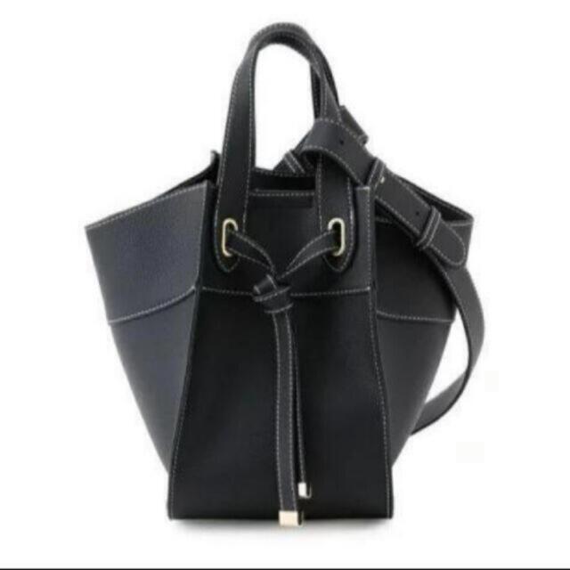 ViS(ヴィス)の【新品未開封】ViS マルチWAY フロントタイバッグ ブラック レディースのバッグ(ハンドバッグ)の商品写真