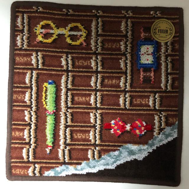 FEILER(フェイラー)のフェイラーハンカチ チョコレート  レディースのファッション小物(ハンカチ)の商品写真