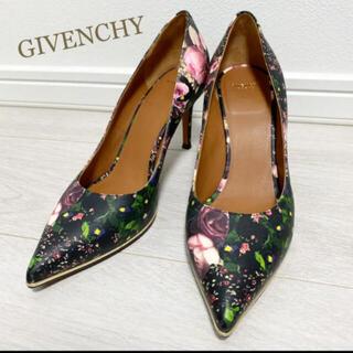 GIVENCHY - 新品同様!ジバンシィ 23.0 花柄 パンプス