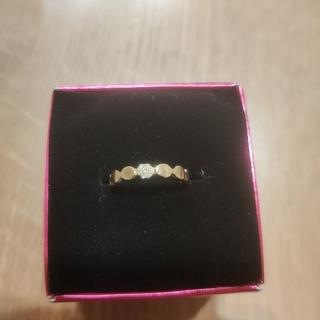 カオル(KAORU)のKAORU  リング  素材:K10&ダイヤモンド  サイズ:7.5号 送料無料(リング(指輪))