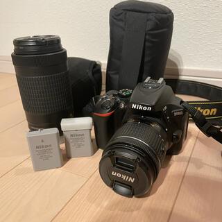ニコン(Nikon)のNikon D5600 ダブルレンズセット+(デジタル一眼)