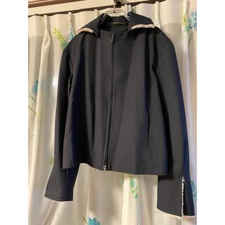 Yohji Yamamoto - ヨウジヤマモト  ウールギャバ ボアスウィングトップジャケット