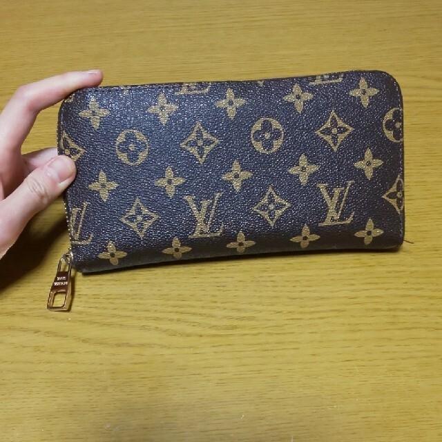 ブランド風モノグラム長財布 レディースのファッション小物(財布)の商品写真