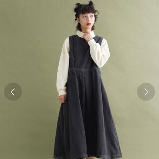 merlot - merlot コーデュロイジャンパースカート