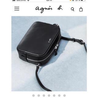 agnes b. - ★新品未開封★アニエスベー ショルダーバッグ ブラック 黒