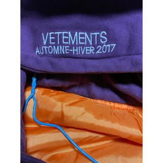 サンベットモン(saintvêtement (saintv・tement))のVETEMETS bomber jacket(purple)(ブルゾン)
